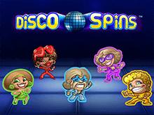 Disco Spins от Нетент - игровые автоматы бесплатно