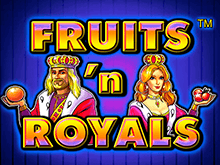 Автомат Fruits And Royals от Novomatic