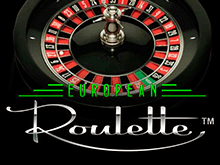 Интернет-слот European Roulette