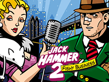 Игровой автомат в жанре детектива Jack Hammer 2